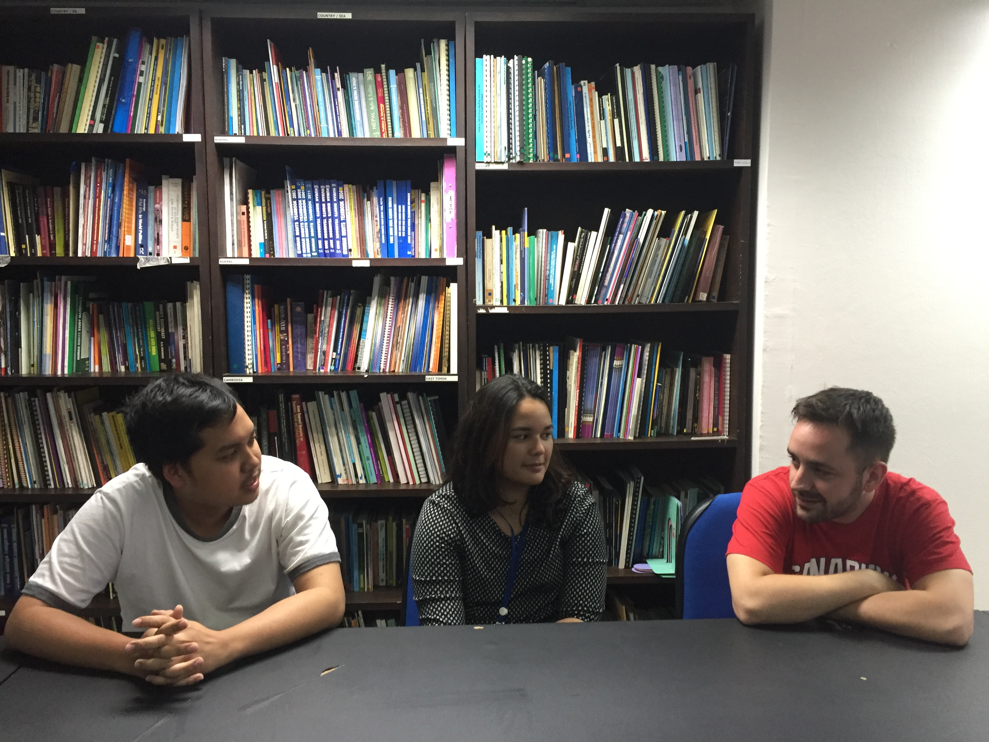interns of forum asia interview shanna emile and oh forum what is your background and how did you get involved forum asia