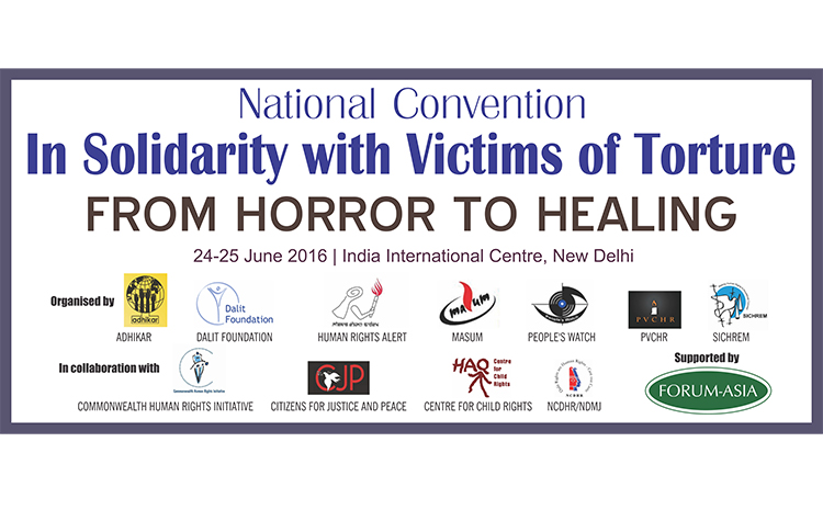 Statement of the National Convention In Solidarity with the Victims of Torture