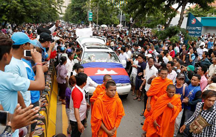 Cambodia: Killing of Kem Ley adds grave concern to the deteriorating human rights situation
