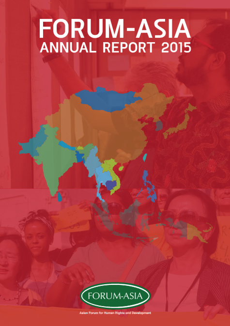 FORUM-ASIA Annual Report 2015