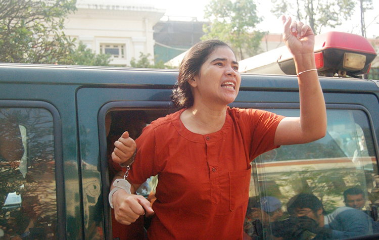Cambodia: Halt the Judicial Harassment of Tep Vanny