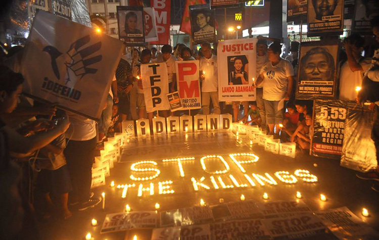 The Philippines: Cooperate with the International Criminal Court on the process of preliminary examination into alleged crimes in drug war
