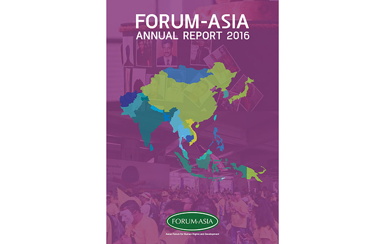 FORUM-ASIA Annual Report 2016