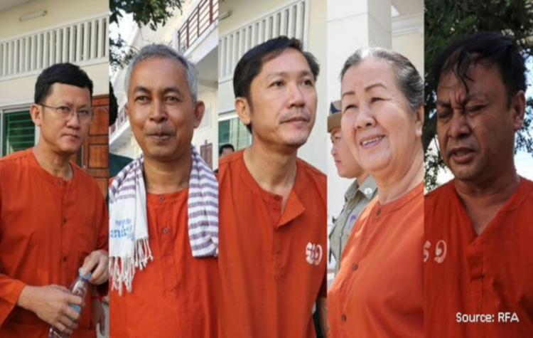 Cambodia: Ensure a fair trial for the Cambodian human rights defenders