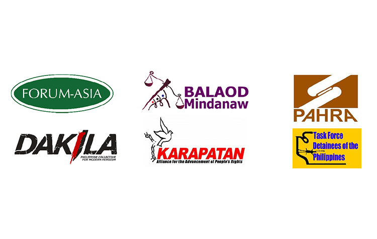 Joint Statement: President of the Philippines should be held accountable for attacks against human rights defenders