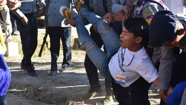 Myanmar: Investigate Police Violence against Karenni Protesters and Respect their Fundamental Freedoms