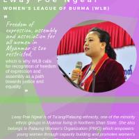 Lway Poe Ngeal from Women's League of Burma
