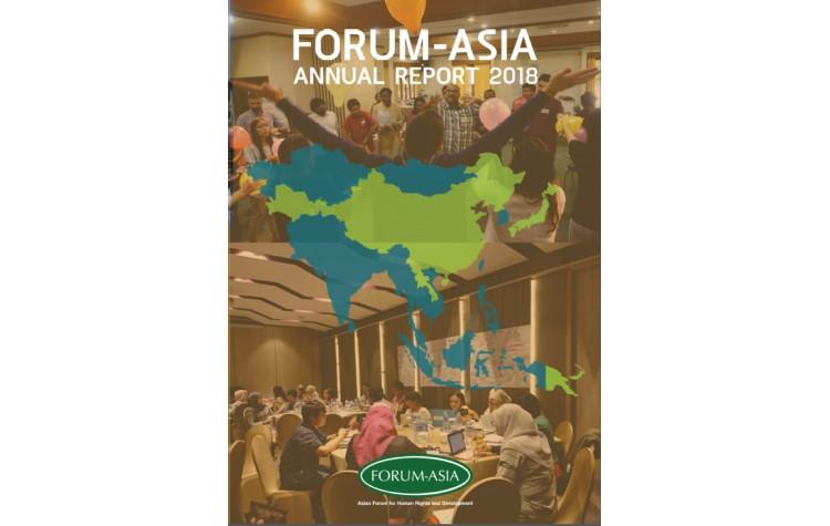 FORUM-ASIA Annual Report 2018