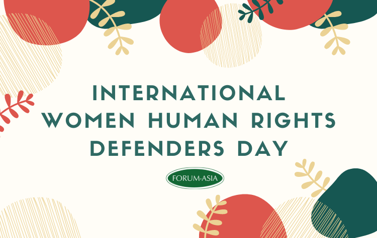 International Women Human Rights Defenders Day 2019
