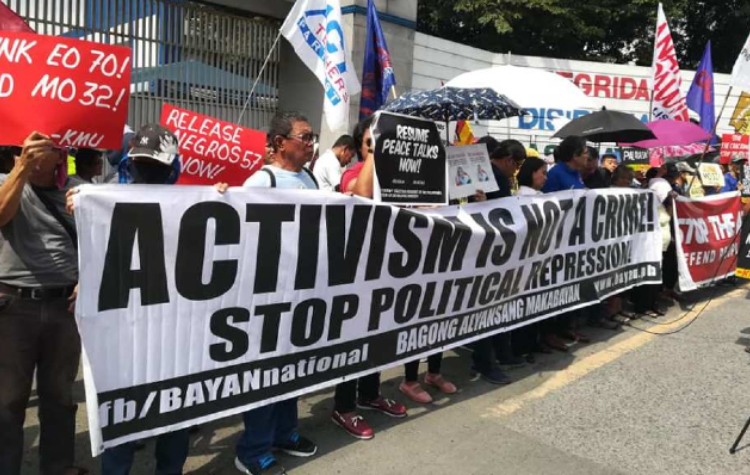Philippines: Respect freedom of association of activists, ensure thorough investigations