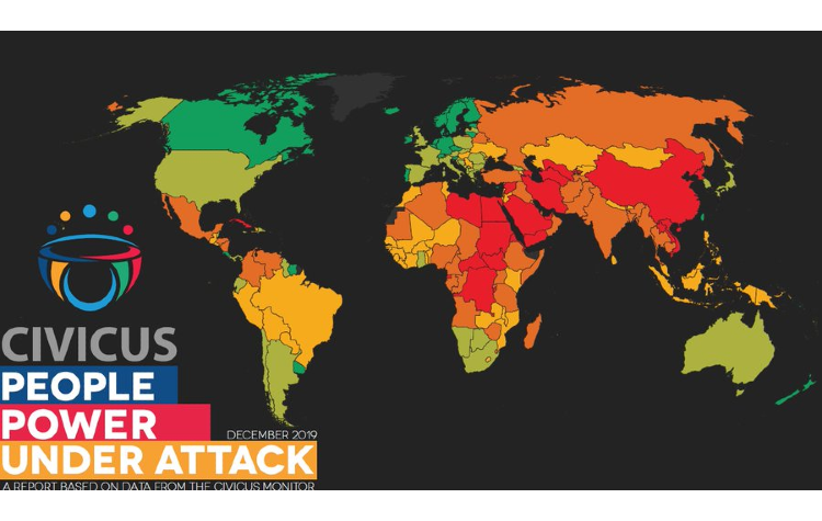 CIVICUS Monitor downgrades two countries in Asia as the numbers living in repressive states increase