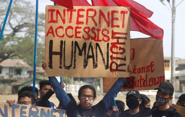 Myanmar: Drop Charges against Student Protesters and Reinstate Internet Access in Rakhine and Chin Townships