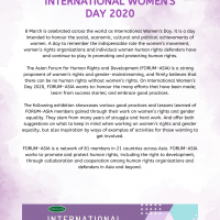 IWD 2020 introduction poster