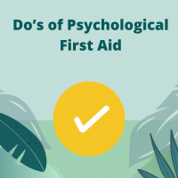 Do's of Psychological First Aid