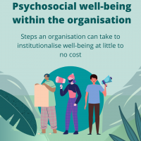Steps for Psychosocial Well-being within an organisation