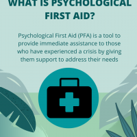 What is Psychological First Aid?