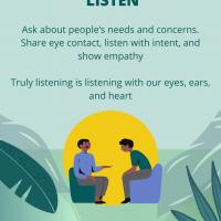 3. Listen