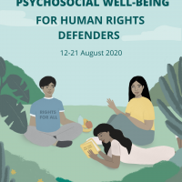 Psychosocial Well-being for Human Rights Defenders