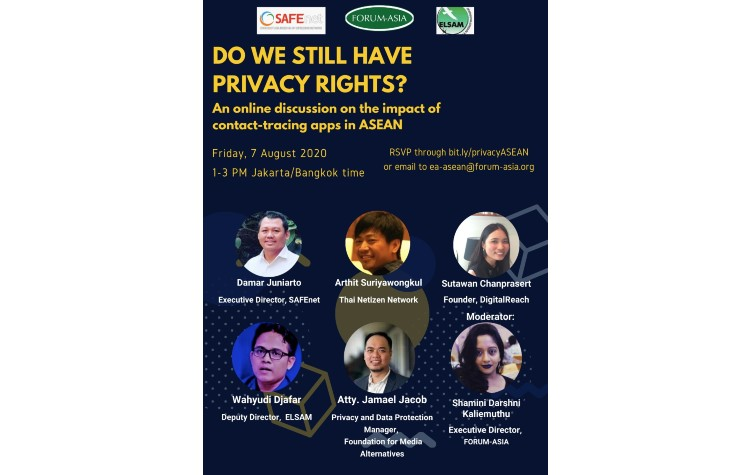 Webinar: Do We Still Have Privacy Rights? The Impact of Contact-Tracing Apps in ASEAN