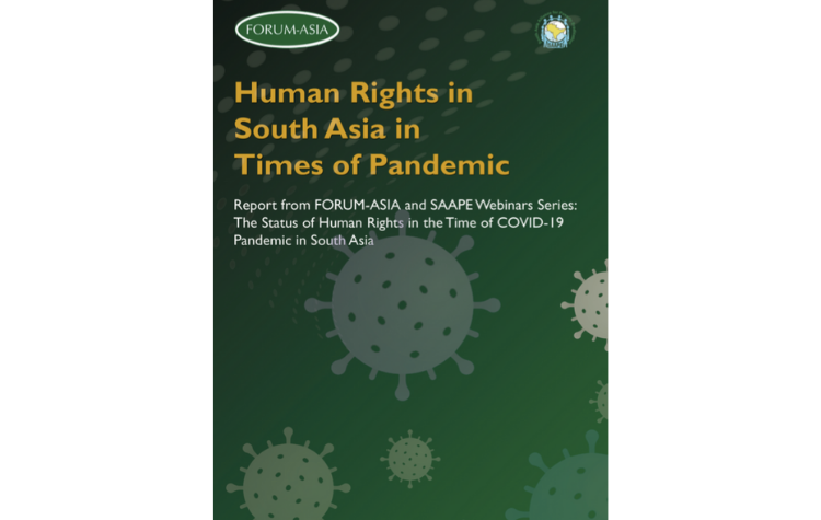 Report: Human Rights in South Asia in Times of Pandemic