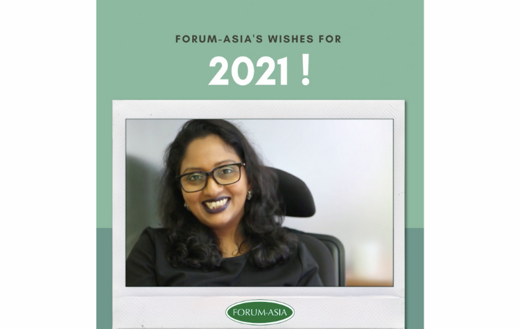 FORUM-ASIA's Wishes for 2021!