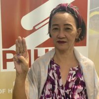 Posted_Rose Trajano, Secretary General of the Philippine Alliance of Human Rights Advocates (PAHRA)