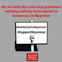 stay strong Myanmar! you are not alone