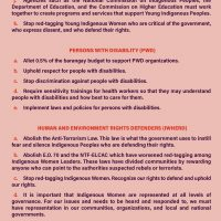 Unity Statement of the National Indigenous Women's Gathering 2021 - LILAK pp5