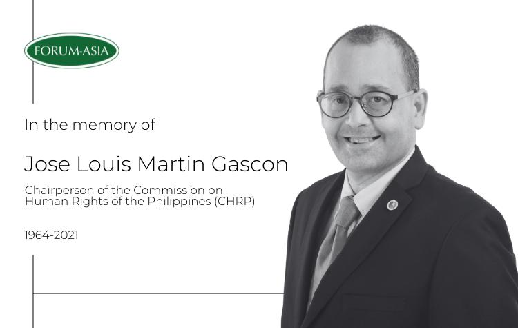 [Condolence Note] The Passing of Jose Louis Martin Gascon